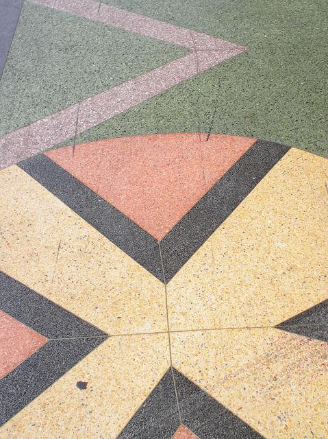 Terrazzo closeup