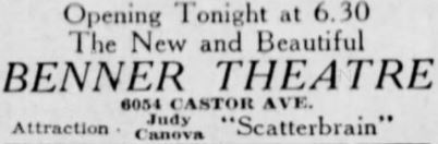January 21st, 1942 grand opening ad