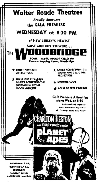 Opening Night Ad, The Woodbridge