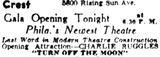 November 23rd, 1937 grand opening ad