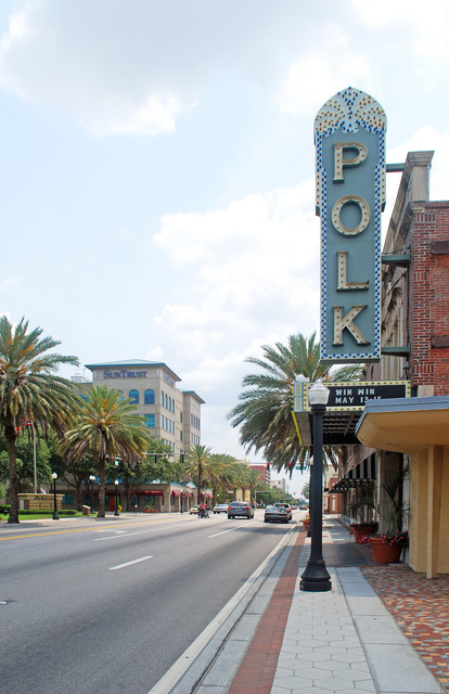 Polk Theatre (side)