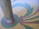 Terrazzo and pillar