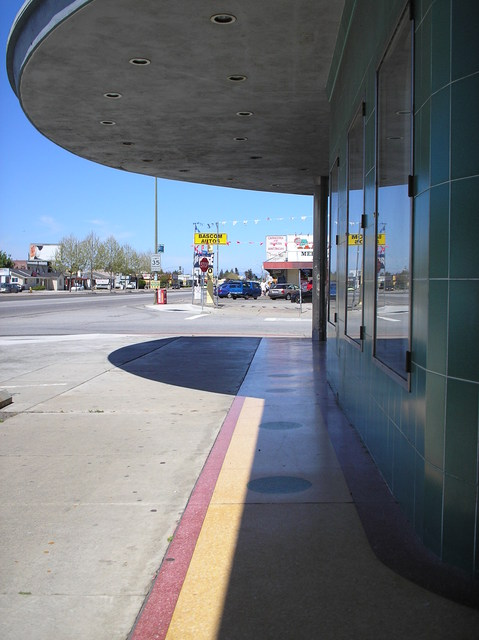 Marquee and terrazzo