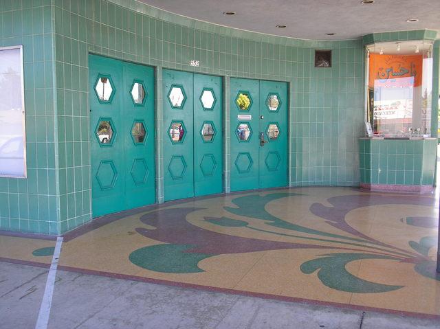 Burbank entrance