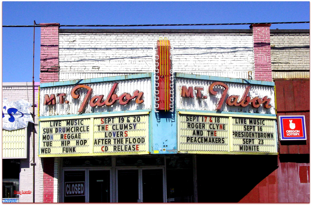Mt. Tabor Theater©...Portland Oregon