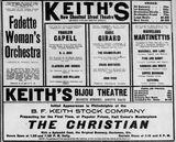 November 9th, 1902 grand opening ad