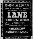 November 9th, 1938 grand opening ad