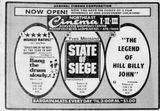 November 9th, 1973 grand opening as Northeast Cinema III