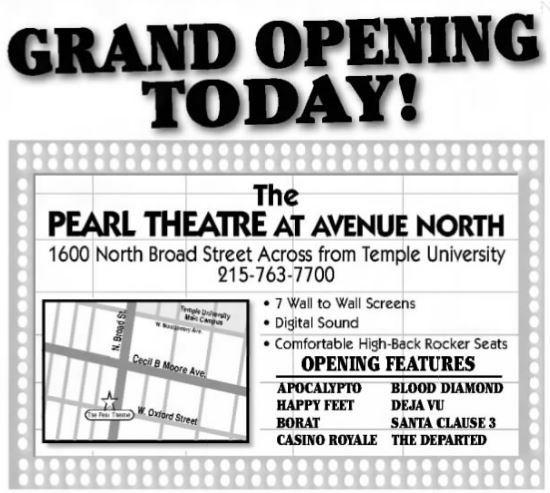 amc north broadstreet 7 in philadelphia pa cinema treasures