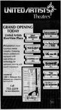 November 1st, 1991 grand opening ad