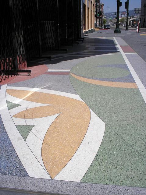 Sidewalk expanse