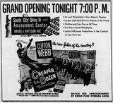 June 2nd, 1950 grand opening ad