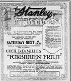 September 23rd, 1923 grand opening ad