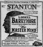 November 14th, 1920 grand opening ad