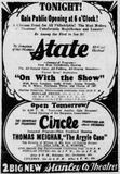 August 29th, 1929 grand opening ad along with the Circle
