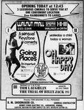 November 15th, 1974 grand opening ad