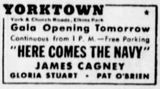 September 2nd, 1934 grand opening ad