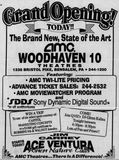 November 10th, 1995 grand opening ad for the 10-plex.
