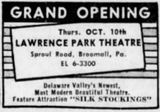 October 10th, 1957 grand opening ad