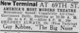 October 14th, 1936 grand opening ad
