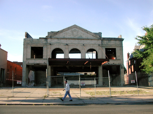 Colonial Theater skeleton - 2001