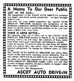 Ascot Triple Drive-In