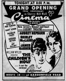 April 11th, 1962 grand opening ad in the Philadelphia Inquirer