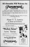 October 3rd, 1930 grand opening ad as Paramount