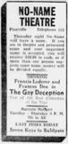 No-Name contest ad from July 1st, 1936