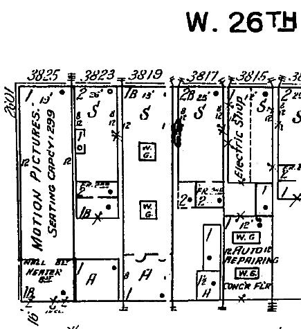 Sanborn Map 1923