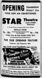 July 20th, 1950 grand opening ad as Star