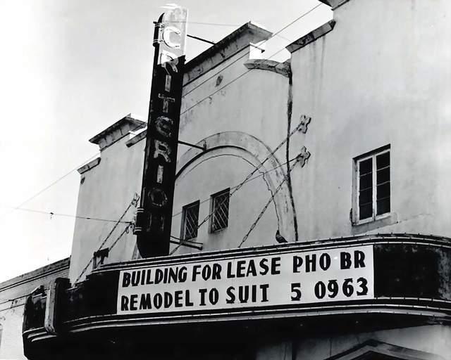 Criterion Theatre  205 E. Main Street, Shawnee, OK...1962.