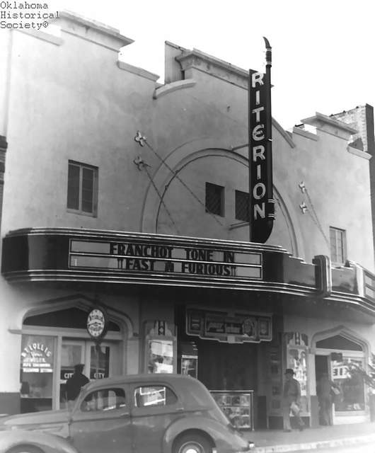 Criterion Theatre 205 E. Main Street, Shawnee, OK…1939.