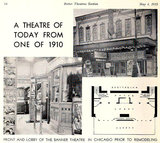 BANNER Theatre; Chicago, Illinois.