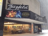 Ziegfeld Theatre's last tenant before closing in winter of 2016.