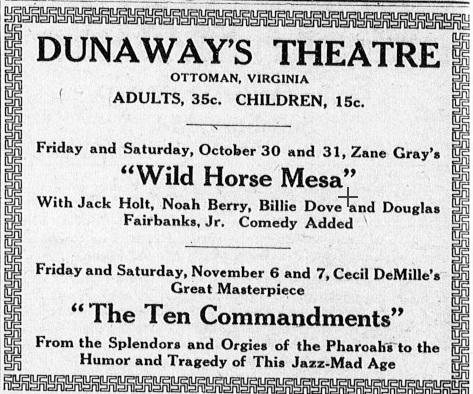 Dunaway's Theatre