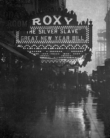 ROXY NY 1920s