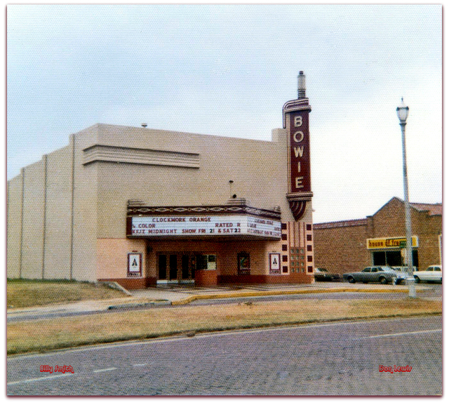 Bowie Theater / Fort Worth TX