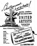 December 24th, 1925 grand opening ad. for renovations