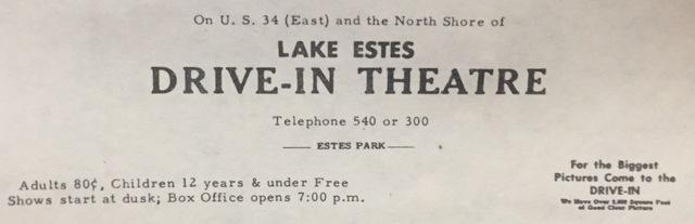 Lake Estes Drive-In
