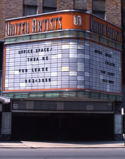 United Artists Theatre exterior (Closed)