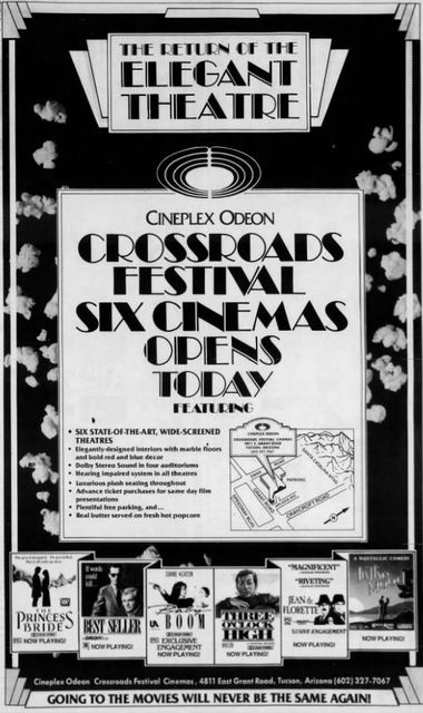 October 9th, 1987 grand opening ad