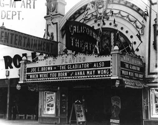 California Theatre exterior (Venice)