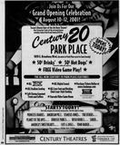 August 10th, 2001 grand opening ad