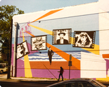 Varsity Theater mural