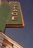 Village Theater sign