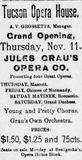 November 11th, 1897 grand opening ad as Opera House