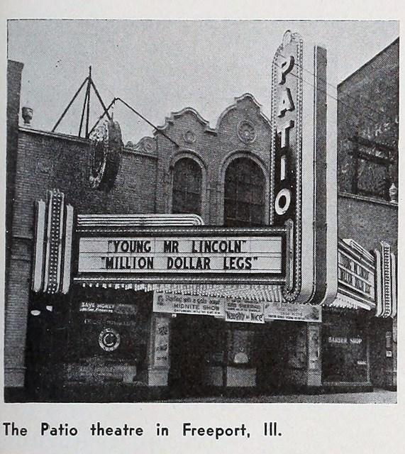 Patio Theater In Freeport IL Cinema Treasures