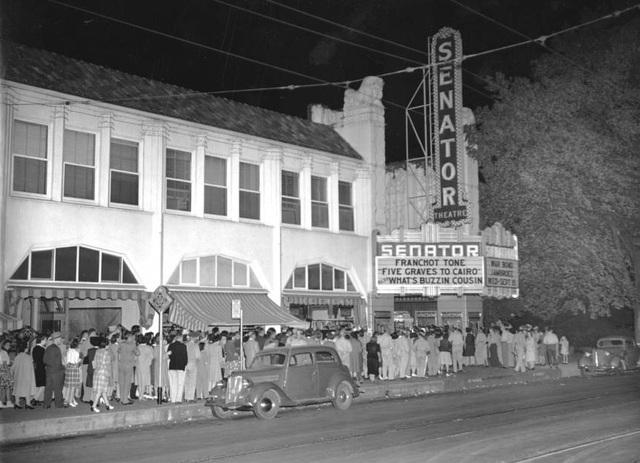 senator theatre in chico ca cinema treasures