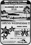 July 27th, 1971 grand opening ad as Jerry Lewis